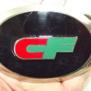 Vintage CF Trucking Company 1980's Belt Buckle
